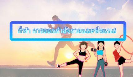 กีฬา การออกกำลังกายและฟิตเนส